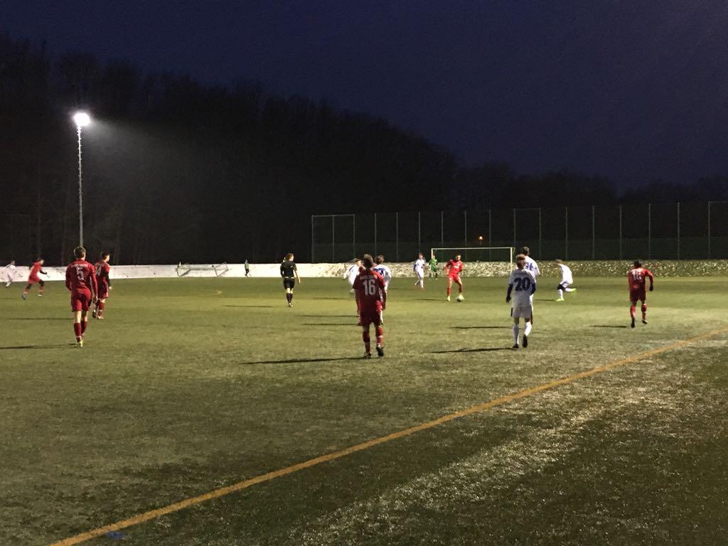 2:2 gegen Regionalligisten