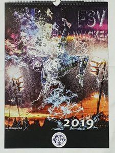 Weihnachtsmarkt Kalender 2019.Wacker Kalender 2019 Ist Da Fsv Wacker 90 Nordhausen E V
