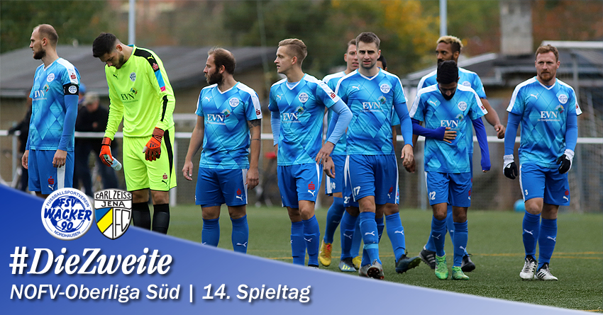 Mit Personalsorgen gegen FC Carl Zeiss Jena II