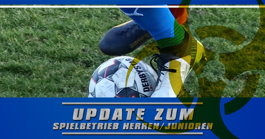 Update Spielbetrieb Herren/Junioren