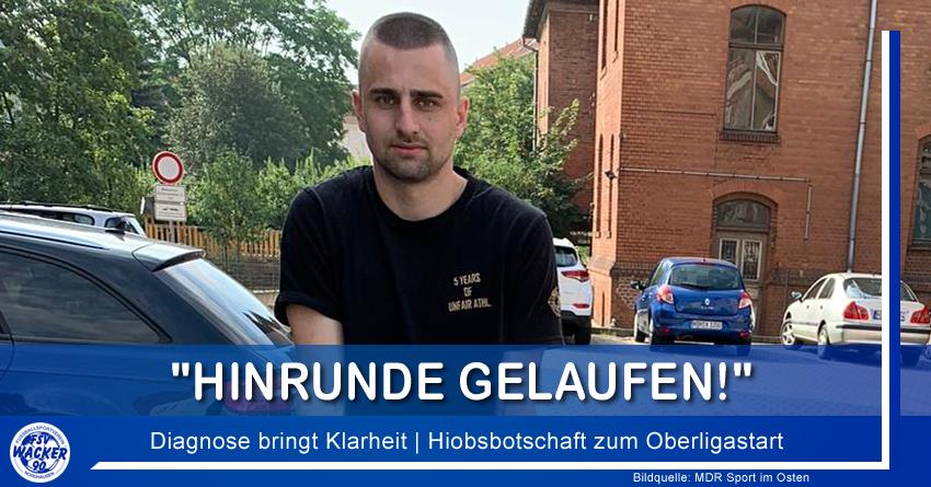 Hiobsbotschaft zum Oberligastart
