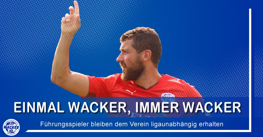 Einmal Wacker, immer Wacker!