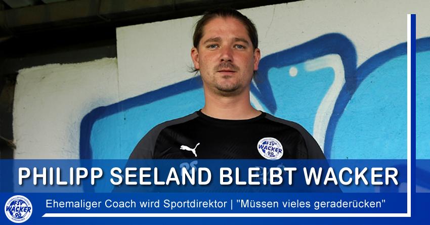 Philipp Seeland wird neuer Sportdirektor
