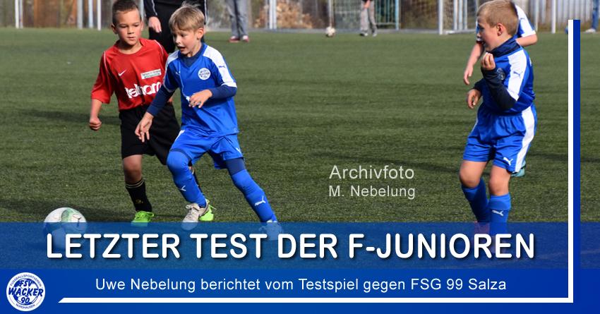 Letzter Test der F-Junioren